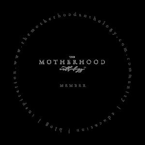 the motherhood anthology badge